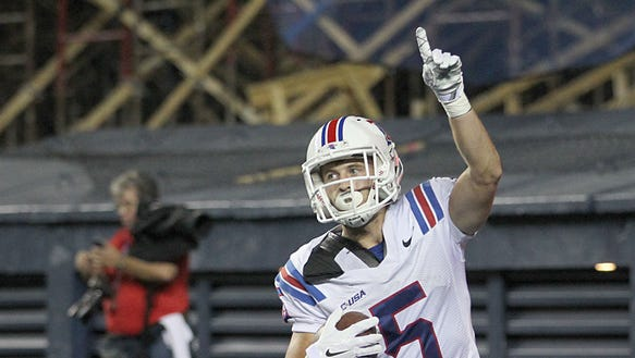 Louisiana Tech wide receiver Trent Taylor came one