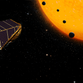 An artistic rendering of NASA's Kepler Space Telescope
