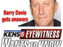 Barry Davis gets answers - Eyewitness Wants to Know