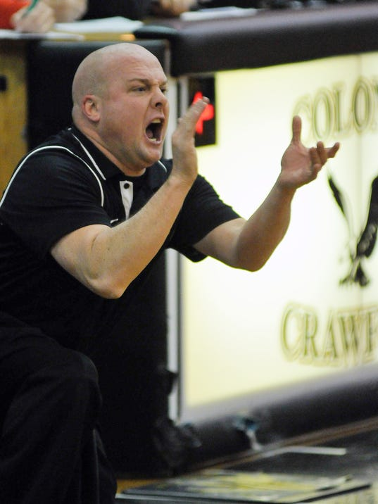 Basketball: Buckeye Central at Colonel Crawford