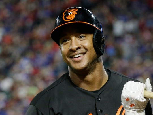 The Baltimore Orioles have traded infielder Jonathan Schoop to the Milwaukee Brewers. AP FILE PHOTO