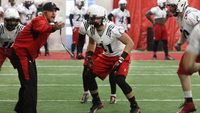 University of Cincinnati football practice started up on Thursday.
