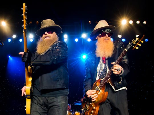 (L-R) Dusty Hill (shown here with band mate Billy Gibbons)