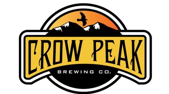 Crow Peak Brewing Co. logo.