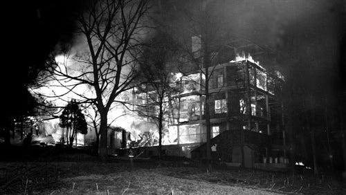 Highland Hospital is the psychiatric facility where author F. Scott Fitzgerald's wife, Zelda, and eight other women died in a fire on the night of March 10, 1948.