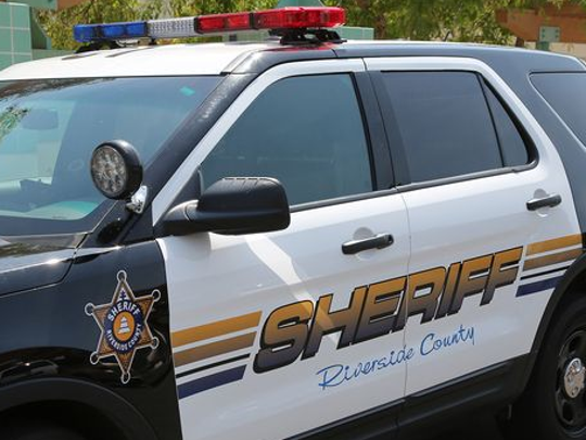 The Riverside County Sheriff's Department responded to the incident on Saturday afternoon in Rancho Mirage.