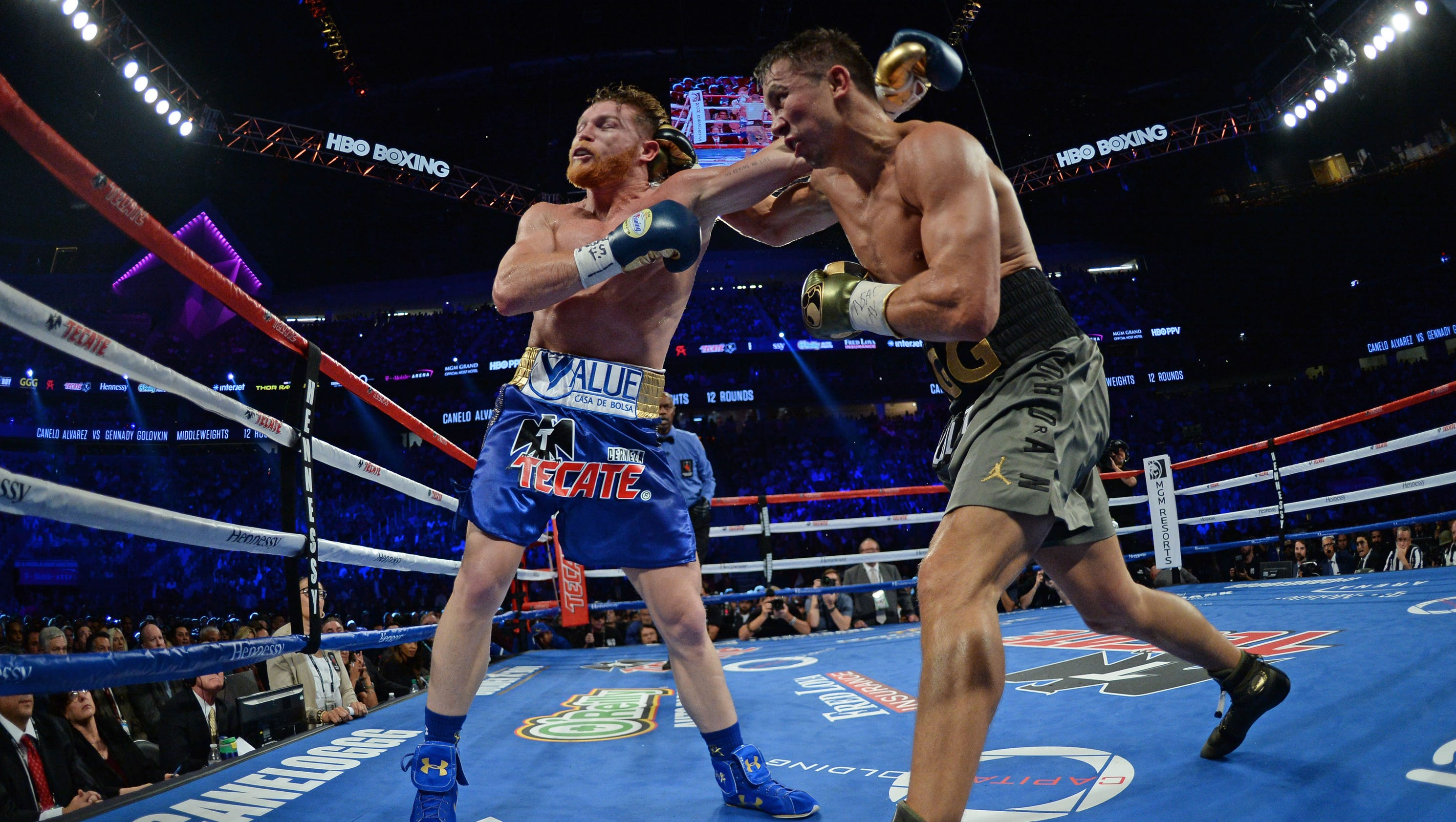 Gennady Golovkin-Canelo Alvarez bout was a blast from boxing's past