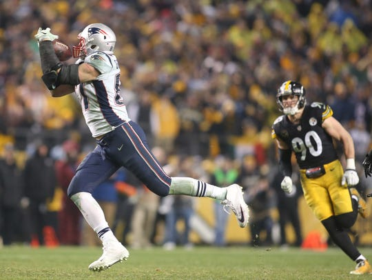 Rob Gronkowski set a new career high with 168 yards