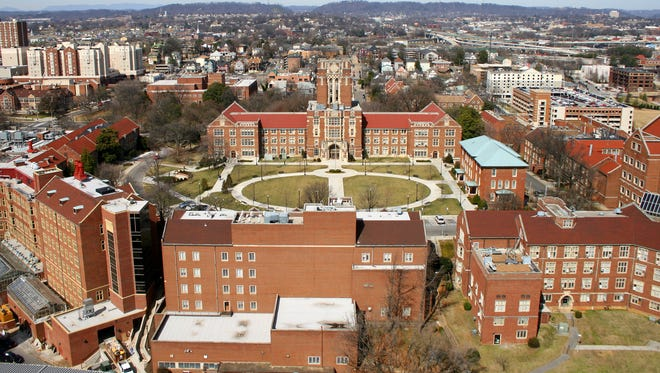 The University of Tennessee campus.
