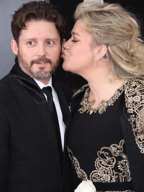 Kelly Clarkson and Brandon Blacksock
