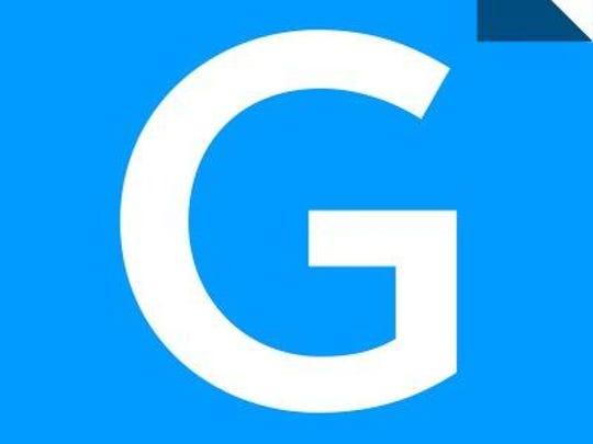 The new logo for Gannett