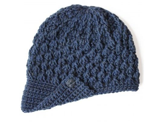 This stylish crochet cap makes a great winter hat or chemo cap. Spinrite gave us permission to reprint this hat pattern from their yarnspirations.com website.