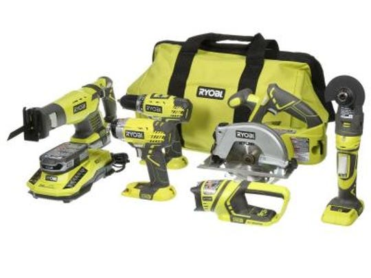 Ryobi's multi-tool set lets you get a comprehensive