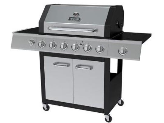 Dyna-Glo's gas grill gives you  a speedy option for