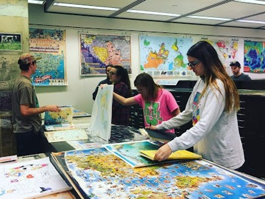 The Ball State University Libraries' GIS Research and