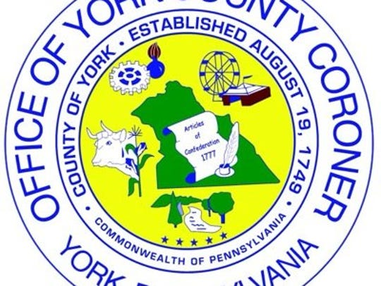 The official seal of the York County Coroner's Office.
