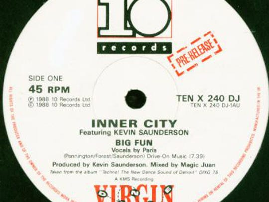"""Inner City's """"Big Fun,"""" the breakout record from Kevin"""
