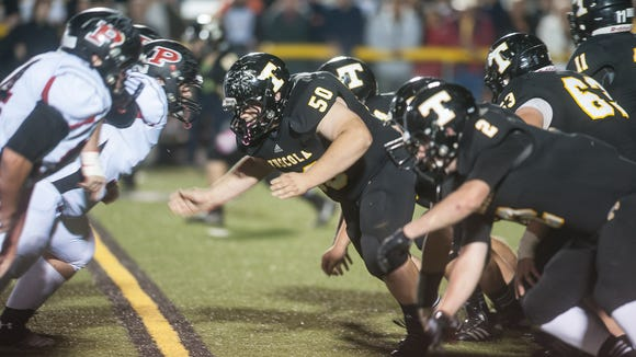 A scene from the 2013 Pisgah-Tuscola football game.