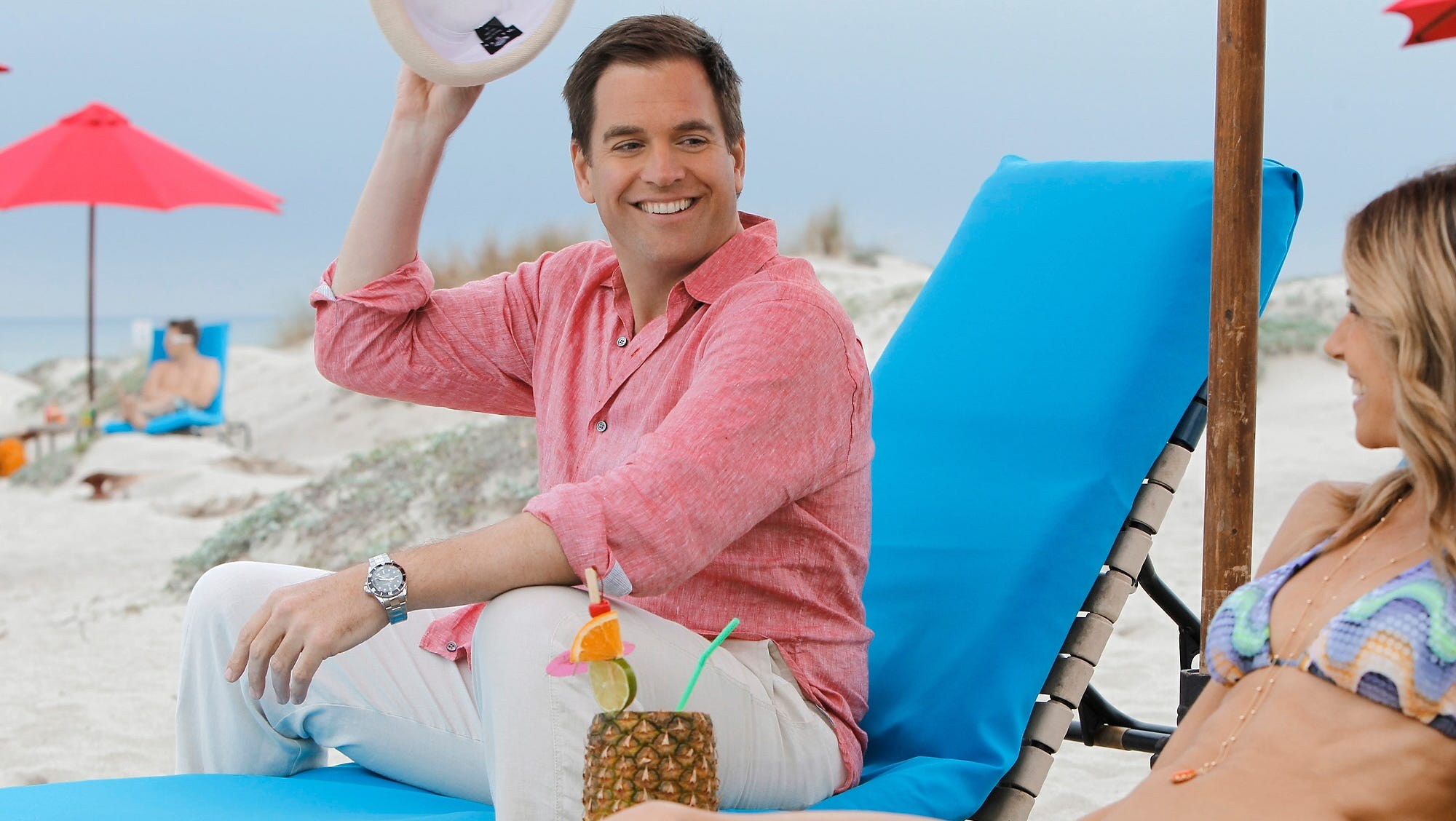 Ncis Star Michael Weatherly Wife Welcome Baby