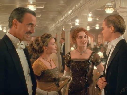 Eric Braeden left as John Jacob Astor in 'Titanic'---Twentieth