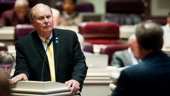 Rep. Jim Patterson presents the autism insurance bill