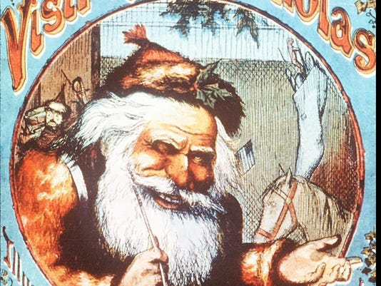 THOMAS NAST ILLUSTRATION OF SANTA