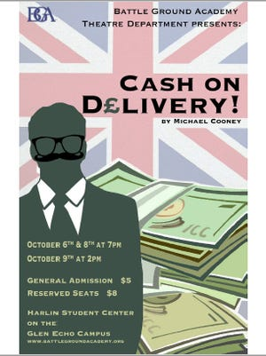 """""""Cash on Delivery!"""" is a British comedy."""