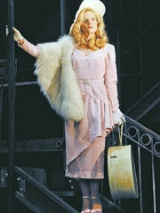 "Dale Dickey stars as Blanche DuBois in the 2009 Clarence Brown Theatre production of ""A Streetcar Named Desire."" Marianne Custer designed the costumes for the Tennessee Williams play."