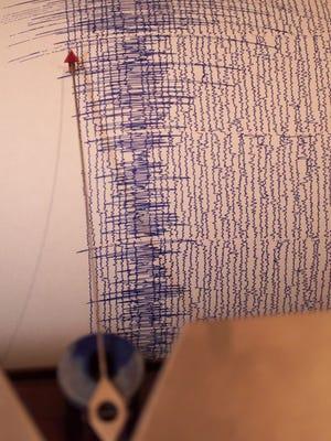 A seismograph.