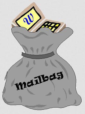 Webster mailbag.