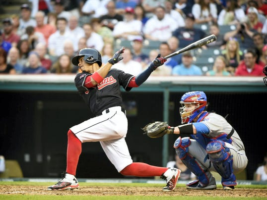 Top shortstop prospect Francisco Lindor was added to the Cleveland Indians roster after moving up in the Indians feeder syster, first with Akron, then the Columbus Clippers.
