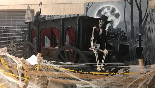 Imaginar Adventures is bringing a scary tale to life in the Wausau Center mall this Halloween.