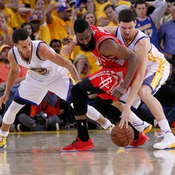 NBA Western Conference finals: Rockets vs. Warriors