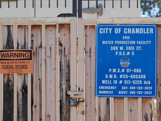 Chandler water facility