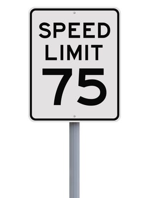 A bill boosting Michigan's speed limit to 75 miles per hour on about 600 miles of highways in rural areas of the state was signed Thursday by Gov. Rick Snyder.
