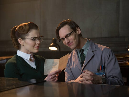 "In the first season of ""Gotham,"" Edward Nygma (Cory"