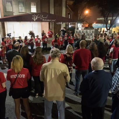Residents of Escambia County comes together to remember
