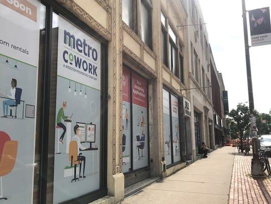 File photo: Metro CoWork on East Avenue.