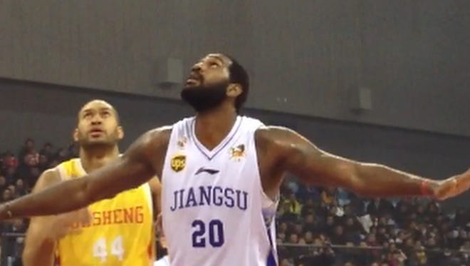 Whatever the circumstances that brought him to China, Greg Oden says he is grateful to be playing again.