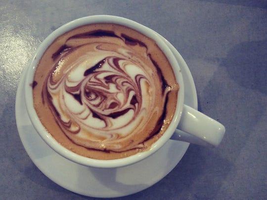 A latte at Bonita Bean in Bonita Springs.