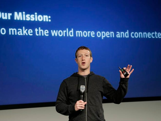 Facebook CEO Mark Zuckerberg announced Aug. 21, 2013, a technology partnership to get more of the world's more than 7 billion people online through the Internet.org partnership with some of the world's largest mobile technology companies.
