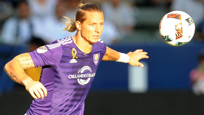 Brek Shea played in 46 games over two seasons for Orlando City SC.