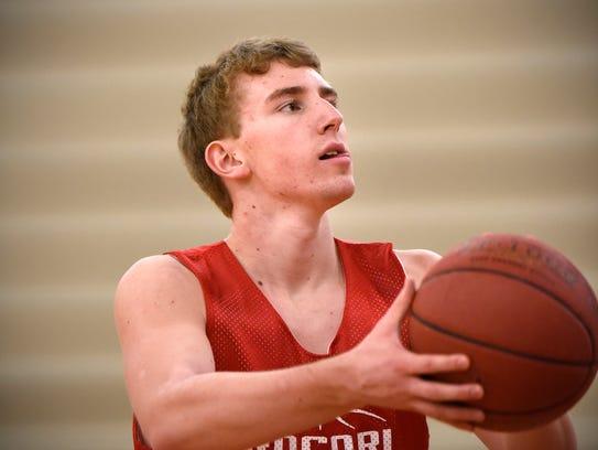Rocori senior basketball player Ryan Hennen is the