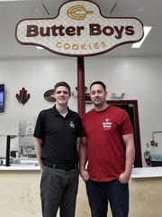 Butter Boys Cookies owners David Radmacher and Brandyn