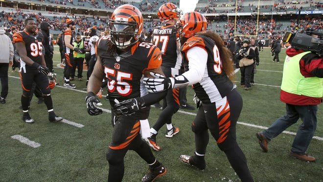 Cincinnati Bengals outside linebacker Vontaze Burfict set an immediate tone in his first full practice in 2016 OTAs by causing a fumble.
