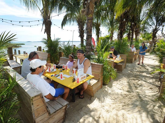 The Paradise Grill in long Neck has added a new patio and paddleboard and kayak rentals this summer.