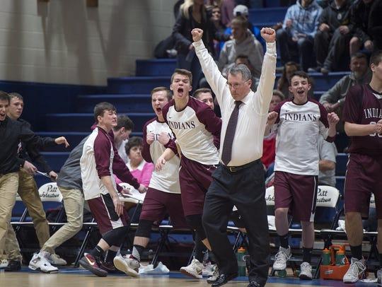 Southern Fulton  celebrates as it wins the District