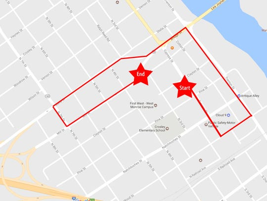 New route for Christmas Parade