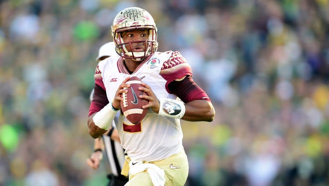 Jameis Winston is expected to be one of the top two quarterbacks drafted.