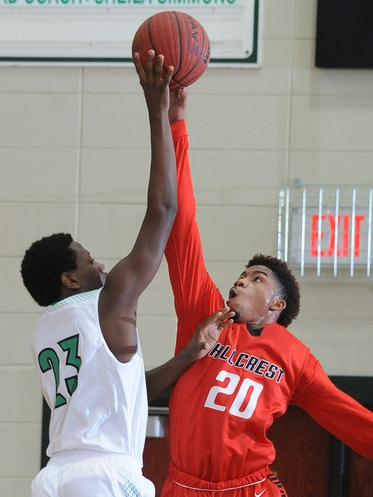 Easley Hillcrest Basketball